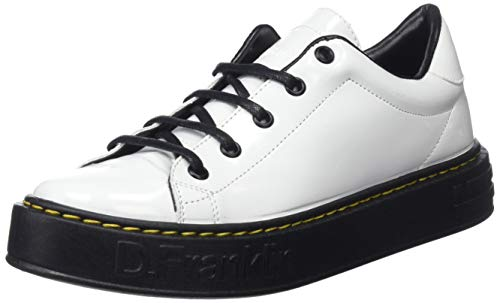 fc096c7d D. Franklin Gumme Patent, Zapatillas para Mujer, (Blanco 0001), 39