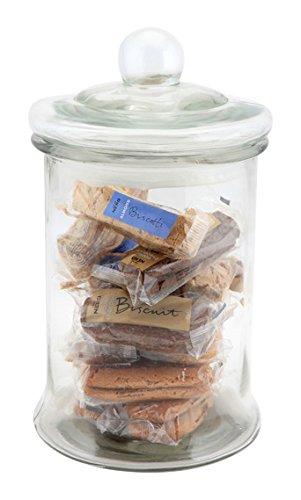 Genware nev-bsj-xl Biscotti Jar, Large, 4,8l