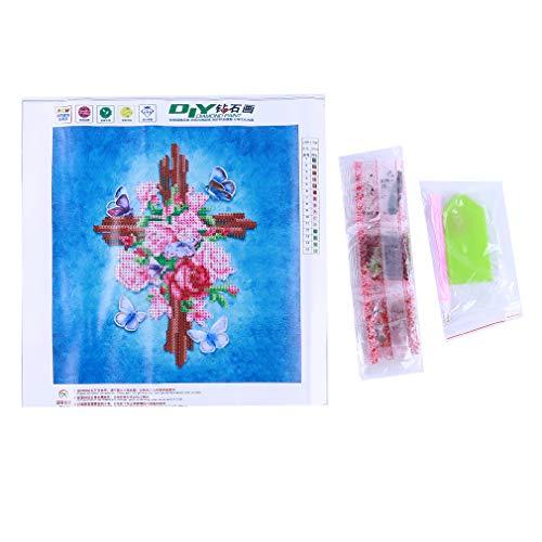 Malerei Kreuzstich Kits DIY Handgemachte Religiöse Kreuz Stickerei Malerei Kunsthandwerk Hause Wanddekor ()