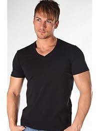 Dolce & Gabbana 2 pieza V de camiseta Day by day (Negro)