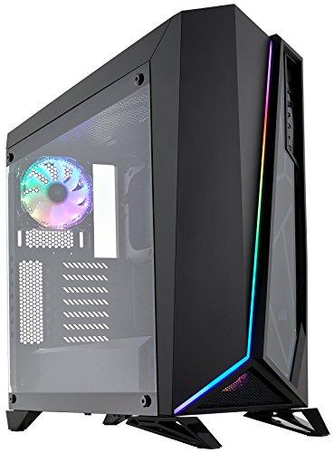 Anpassung Gehäuse (Corsair SPEC-OMEGA RGB PC-Gehäuse (Mid-Tower ATX, mit gehärtetem Glas) schwarz)