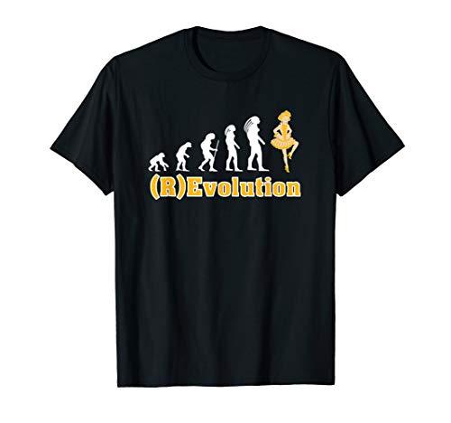 Revolutions Tanz Kostüm - Revolution des Gardetanz Fun shirt als Kostüm im Karneval