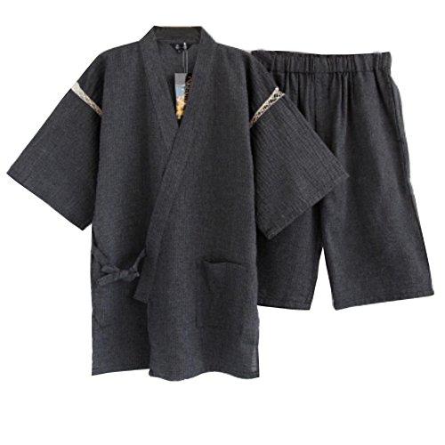 Herren Kimono Pyjamas Anzug im japanischen Stil [L]