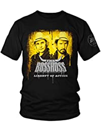 The Bosshoss Liberty of Action (Limited Best of Collection) T-Shirt Schwarz