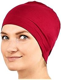 Jasmine seda Sleep Cap de bambú - Adecuado para la quimioterapia y la pérdida del cabello - Chemo del cáncer Cardani Sombrero