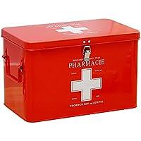 Mizii Medizin-Box Haushalt Tragbare Erste-Hilfe-Kit Mit Schloss Große Doppelschicht Doppel-Griff Aufbewahrungsbox... preisvergleich bei billige-tabletten.eu