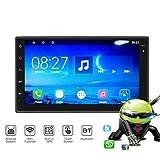 Lettore Video Integrato nel cruscotto, Navigazione GPS per Auto con Touchscreen HD da 7 Pollici, Radio FM Multifunzione, Bluetooth 3.0, Wi-Fi Integrato, per Auto da 2 DIN