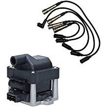 Bobina de encendido + juego cable de encendido 5 piezas