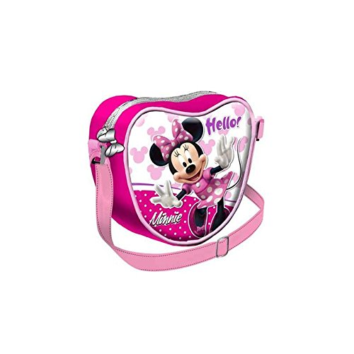Disney Borsa Borsetta da donna bambina Minni Hello tracolla scuola cuore