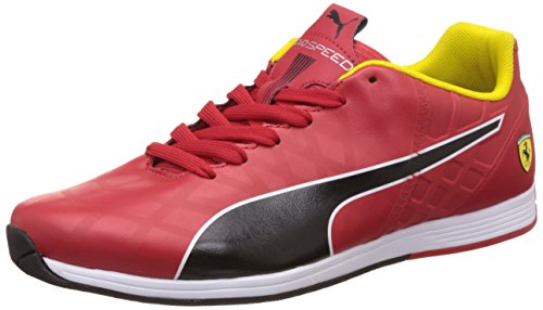 Puma Evospeed 1 4 SF NM, Baskets Basses Homme Rouge (Rosso Corsa/Black)