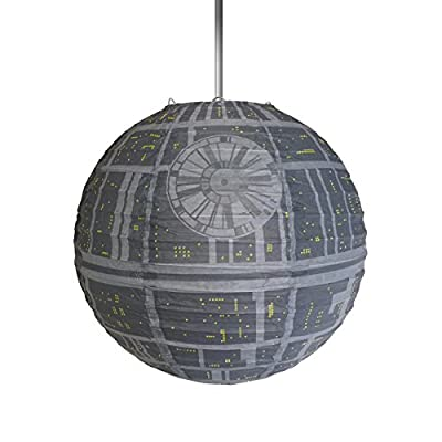 Star Wars Official Death Star Lightshade - Large - 44cm - inexpensive UK light shop.