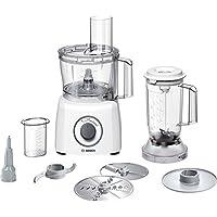 Bosch MCM3200W Robot da Cucina Compatto, 800W, Bianco/Grigio