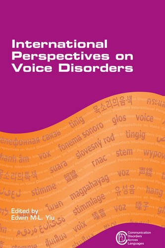 International Perspectives on Voice Disorders (Communication Disorders Across Languages, Band 9)