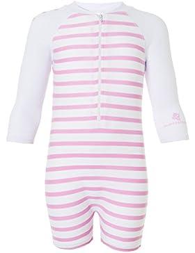 Snapper Rock Baby Mädchen UPF 50+ UV schützend warm Langarm Badeanzug für Kinder