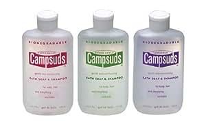 Campsuds Bath Soap & Mint / 4 oz shampooing.