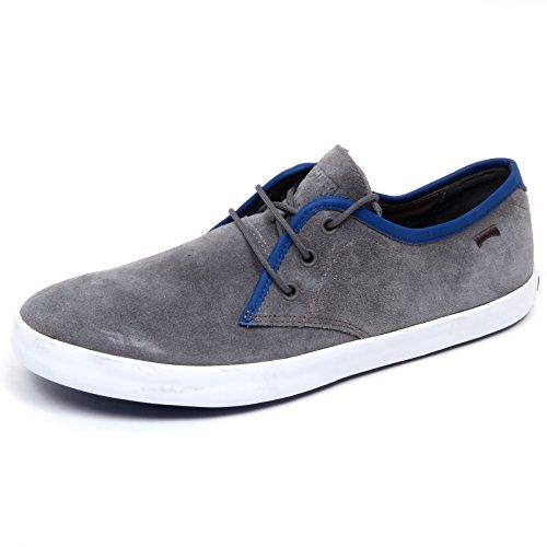 D4820 scarpa uomo CAMPER WITHOUT BOX suede grey shoe men Grigio