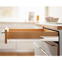Ronin Furniture Fittings® Blum estándar Roll cajones Guía, cajón, extensión completa, 30kg, 430E