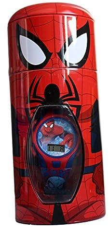montre enfant quartz digitale spiderman marvel comics Amazing