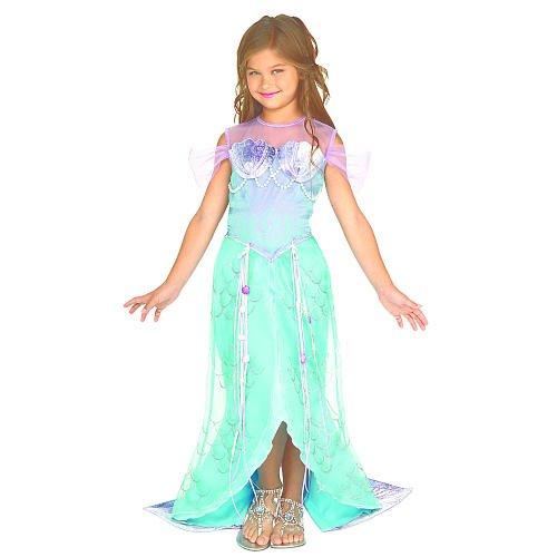 Meerjungfrau Prinzessin Halloween Kostüm - Kleinkind Größe 2T-4T (Halloween Prinzessin Kostüm Für Kleinkind)