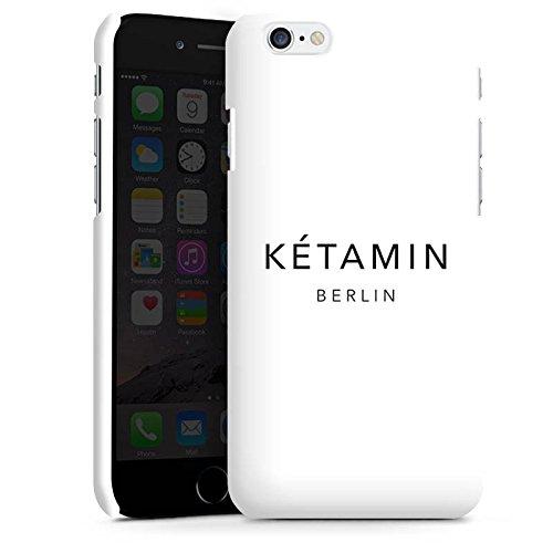 Apple iPhone X Silikon Hülle Case Schutzhülle Ketamin Berlin Luxus Premium Case matt