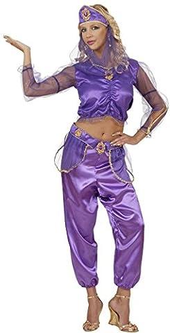 Widmann 58221 - Erwachsenenkostüm Haremstänzerin, Bluse, Hose, Gürtel, Kopfbedeckung mit Schleier, Größe (Bauchtanz-kostüme Amazon)