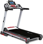 PowerMax Fitness TAC-400 4HP (6HP Peak) Motorized Treadmill with Free Installation Assistance, Home Use &