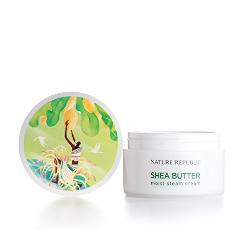 Nature Republic Shea Butter Steam Cream, Moist, 100 Gram -