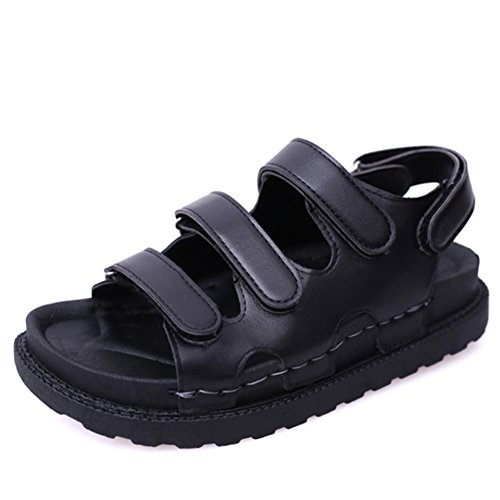 Fin de chaussures plates d'été fashion Lady/étudiant Velcro open toe sandales casual/Chaussures de gladiateur A