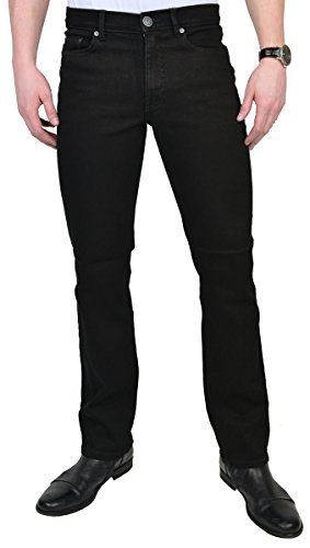 Paddock`s Herren Jeans Ranger - Slim Fit - Schwarz - Black/Black 60.01, Black/Black