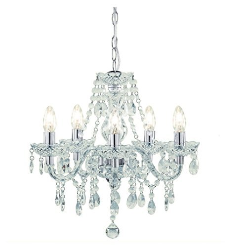 tuscany-5-light-ceiling-chandelier-acrylic-droplets-clear