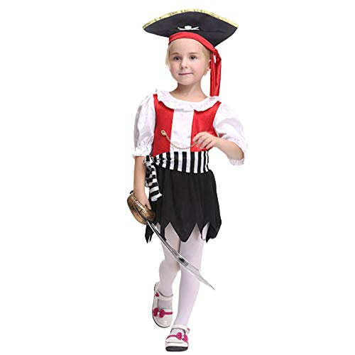 Kostüm Jazz Dance Halloween - AUEDC Halloween Kostüm, Kinder Jazz Dance Kostüm Set Cosplay Childs Outfit Halloween Karneval Geburtstag Urlaub Party Maskerade Dress up,L
