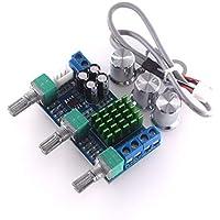 HW-715 TPA3116D2 Tablero del Amplificador de Potencia Digital de Dos Canales Alto Ajuste de Graves a Bordo Amplificador operacional 2X 80W