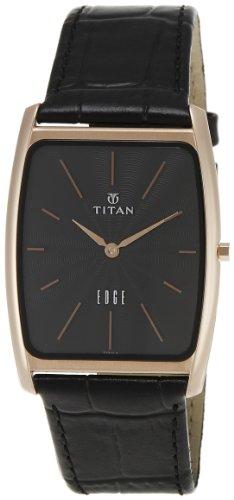 411JGkUdumL - Titan 1596WL01 Edge Mens watch