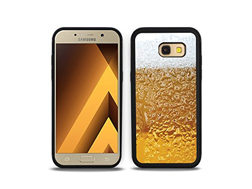 etuo Handyhülle für Samsung Galaxy A5 (2017) - Hülle Hybrid Fantastic - Bier mit Schaum - Handyhülle Schutzhülle Etui Case Cover Tasche für Handy
