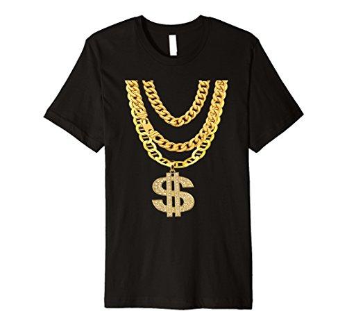 Gangster Kette Shirt | Süßes Hip Hop Halskette T-Shirt Geschenk