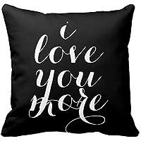 CCouqi I Love You Love You More Verlobungsring romantische Geschenkidee für Sie und Ihn-für Schlafzimmer Jahrestag Hochzeit romantische Herzen. für Paare/Liebende