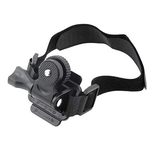 Ballylyly Verstellbarer Kopf belüftet Helmgurt Halterung für Mobius ActionCam Sport Kamera Video DV DVR Fahrradhelm Halterung Fahrradhalter
