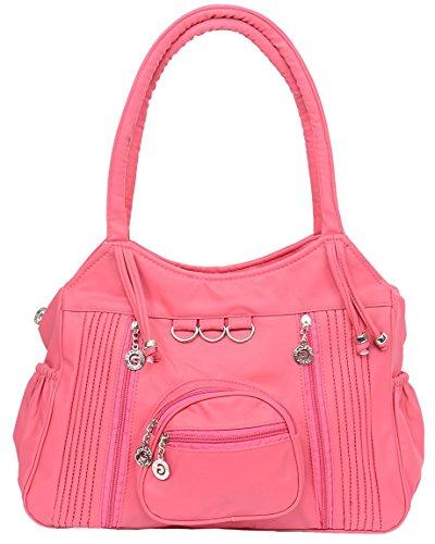 TipTop PU Women's Handbag (Pink, CKRK111)