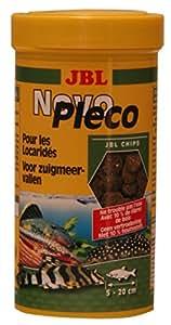 NOVO PLECO CHIPS 100ml nourriture pour loricaridés herbivores