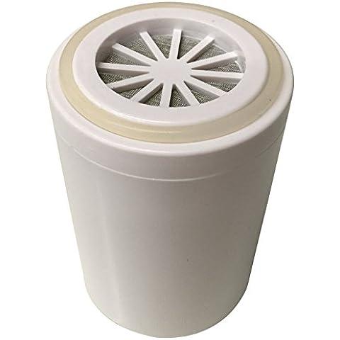 Filtro de agua de la ducha: Cartucho de repuesto: KDF / GAC
