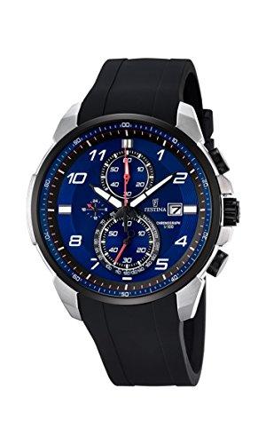 Festina Herren-Armbanduhr Chronograph Quarz Plastik F6841/3