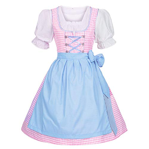 Plus Size Damen Elf Kostüm - Cuteelf Damen Kleid Traditionelle bayerische Oktoberfestkleidung