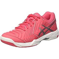 Asics Gel-Game 6, Zapatillas de Tenis para Mujer, Rojo (Rouge Red/Silver / White), 38 EU