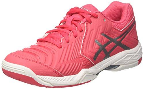 Asics Gel-Game 6, Zapatillas de Tenis para Mujer, Rojo (Rouge Red/Silver/White), 38 EU