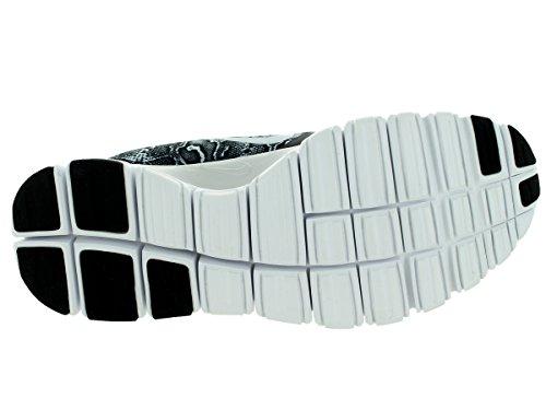 Nike gratuit 5.0 v4 ns pt chaussures Multicolore - Schwarz/Weiß/Pure Platinum