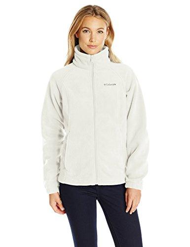 Columbia Women's Petite Benton Springs Full Zip Fleece Jacket - Large - Sea Salt -