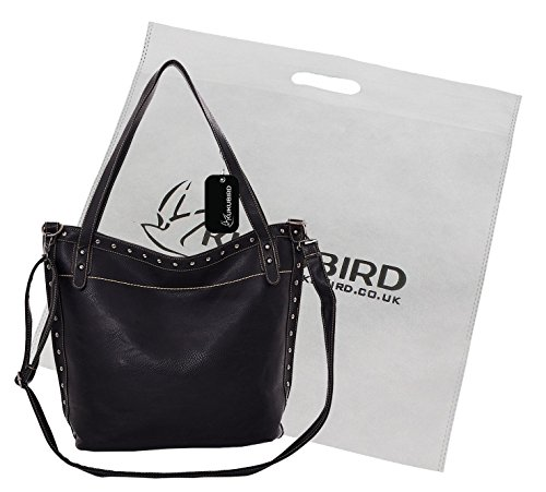 Kukubird Chiara Tote Bag borsa Casual tutti i giorni 1Black Mejor Lugar Para Comprar En Línea 7IDLg