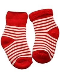 Weri Spezials Baby ABS Voll Frotee Kleiner Leopard Socke in Rosa