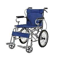Wheelchair Folding lightweight wheelchair Elderly wheelchair Travel wheelchair