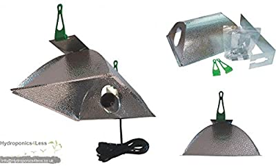 LUMii OPTii Closed-Ended Reflector Hydroponic Grow Light Ballast MH CFL HPS